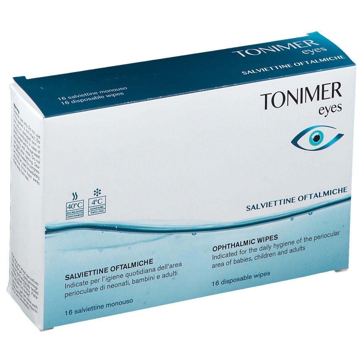 Tonimer Eyes salviettine oftalmiche 16pz