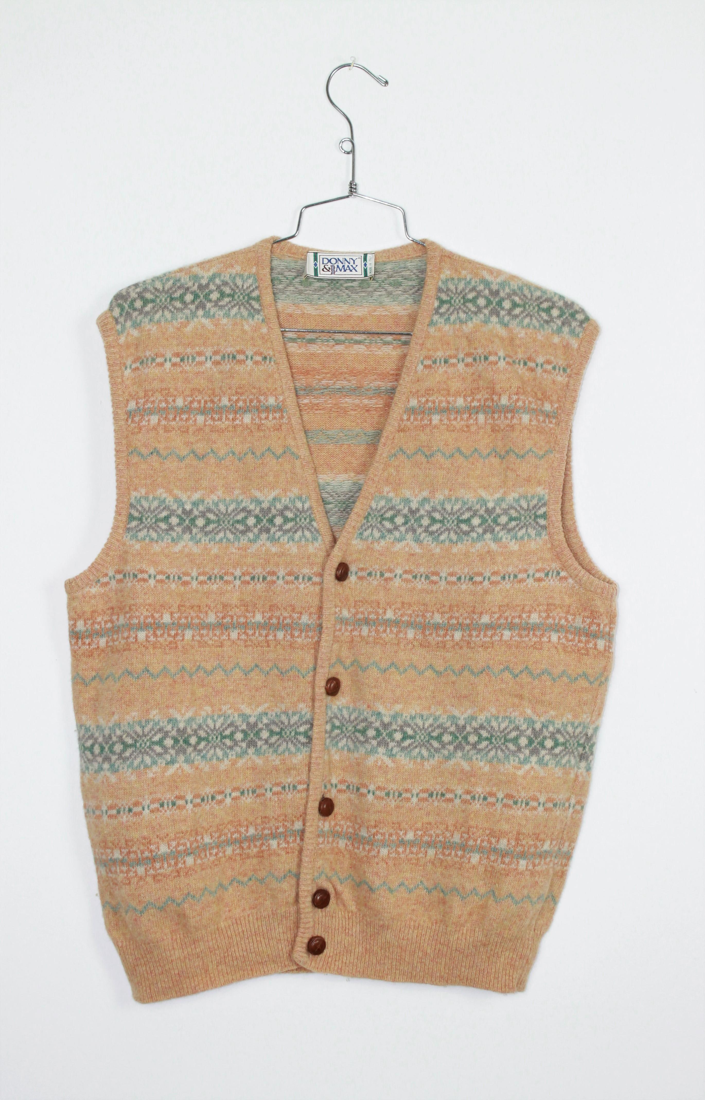 Cardigan gilet maglia