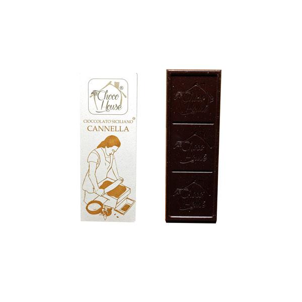 Cioccolato Cannella 50 gr - 10 Pz