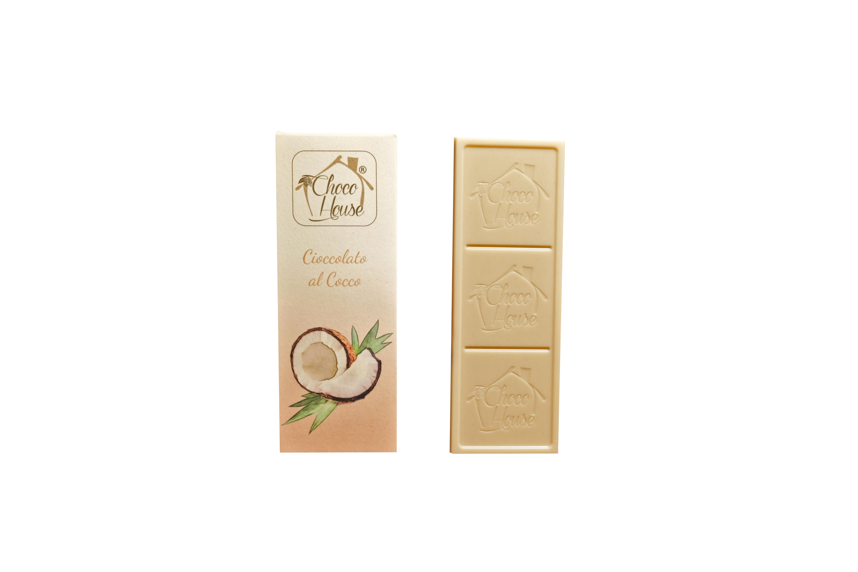 Cioccolato al Cocco  50 gr - 10 Pz