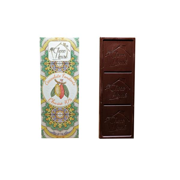 Cioccolato Fondente Chuao 70% (edizione limitata) 50 gr - 10 Pz