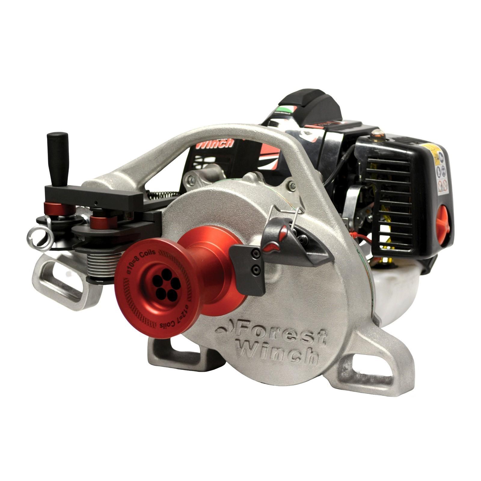 ARGANO FORESTALE DOCMA VF105 RED IRON  815 Kg - MOTORE A SCOPPIO 50cc 2t