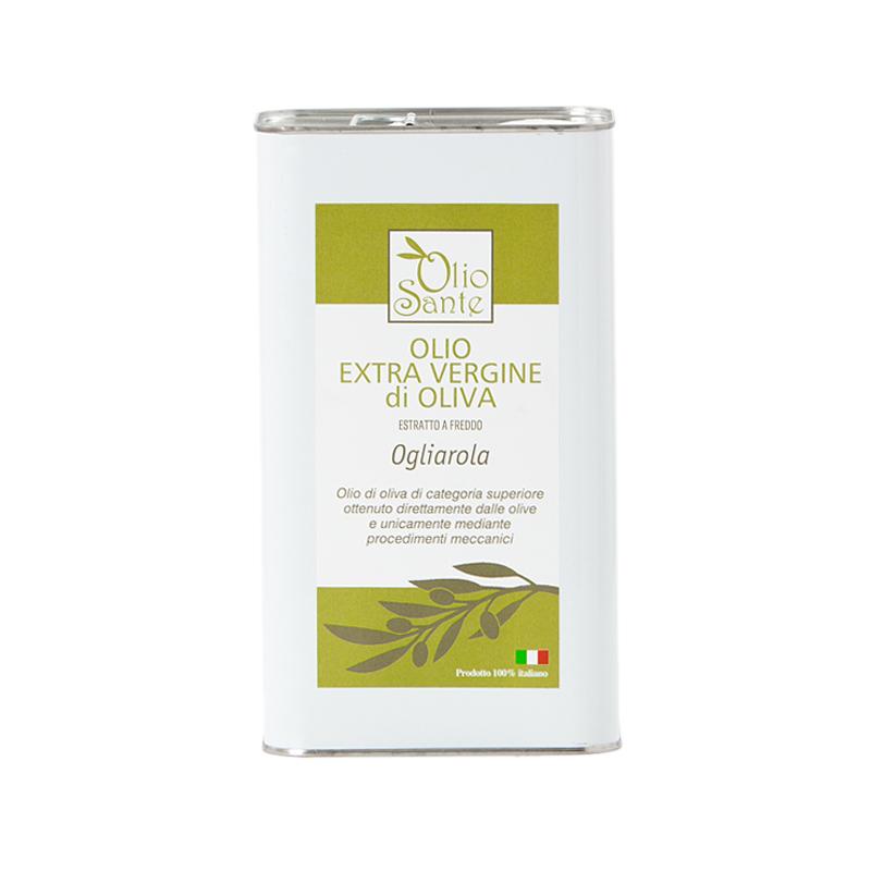 Olio EVO Ogliarola 3L 2020/21 - Olio extravergine di oliva Pugliese cultivar Ogliarola Sante in Latta 3 Litri - Terre di Ostuni-2