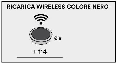 Ricarica Wirelles D8 per scrivania Palco