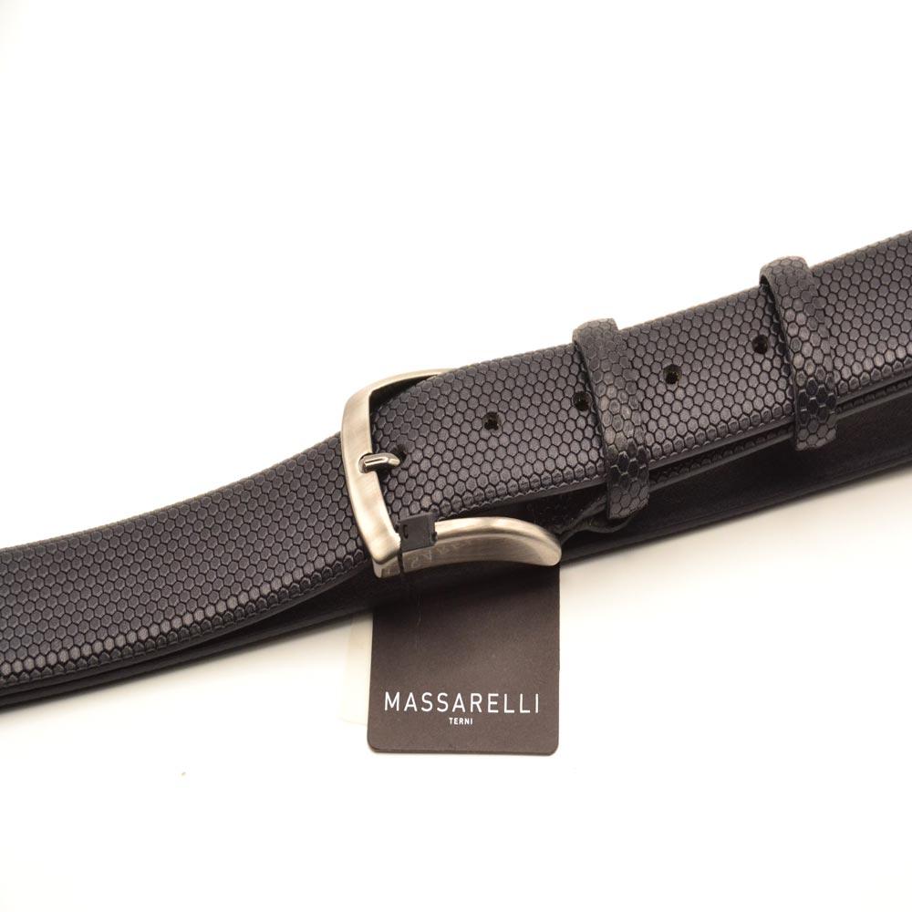 F. Massarelli -Terni- Cintura Uomo Vitello/Geometrica C1656