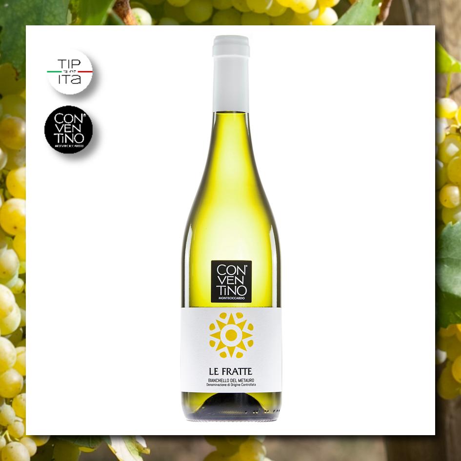 Le Fratte DOC - Bianchello del Metauro Superiore - Vino Bianco BIO 2019 - 75cl