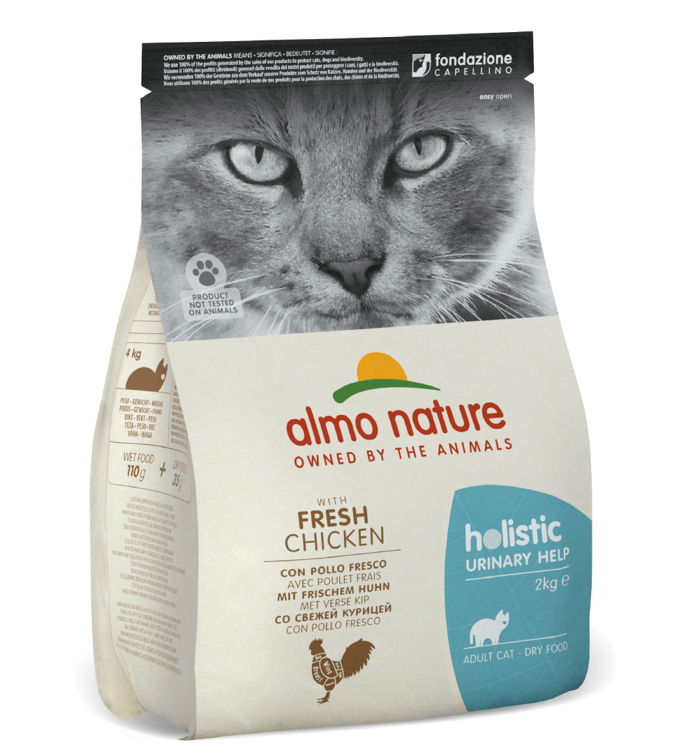 Almo Nature - Holistic Cat Functional - Urinary Help - Pollo 2 kg