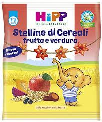 BABY STELLINE DI CEREALI ALLA FRUTTA E VERDURA 30g