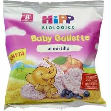 BABY GALLETTE AL MIRTILLO 30g