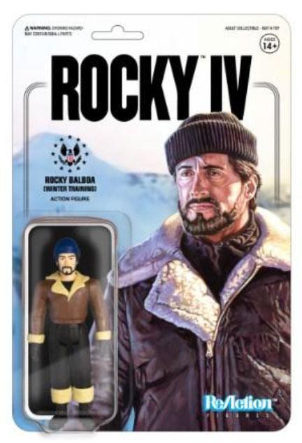 ReAction Figure: Rocky IV - Rocky (Winter Trining) by Super 7