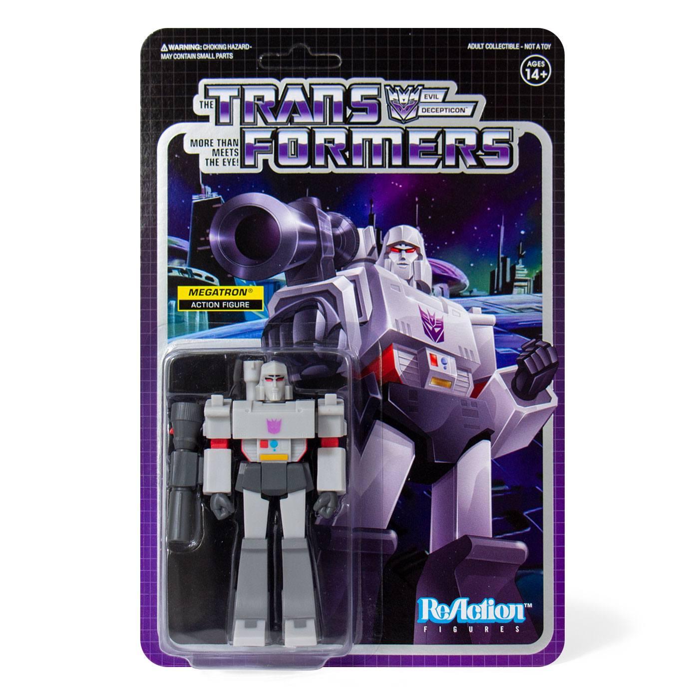 ReAction Figure: Transformers - Megatron by Super 7