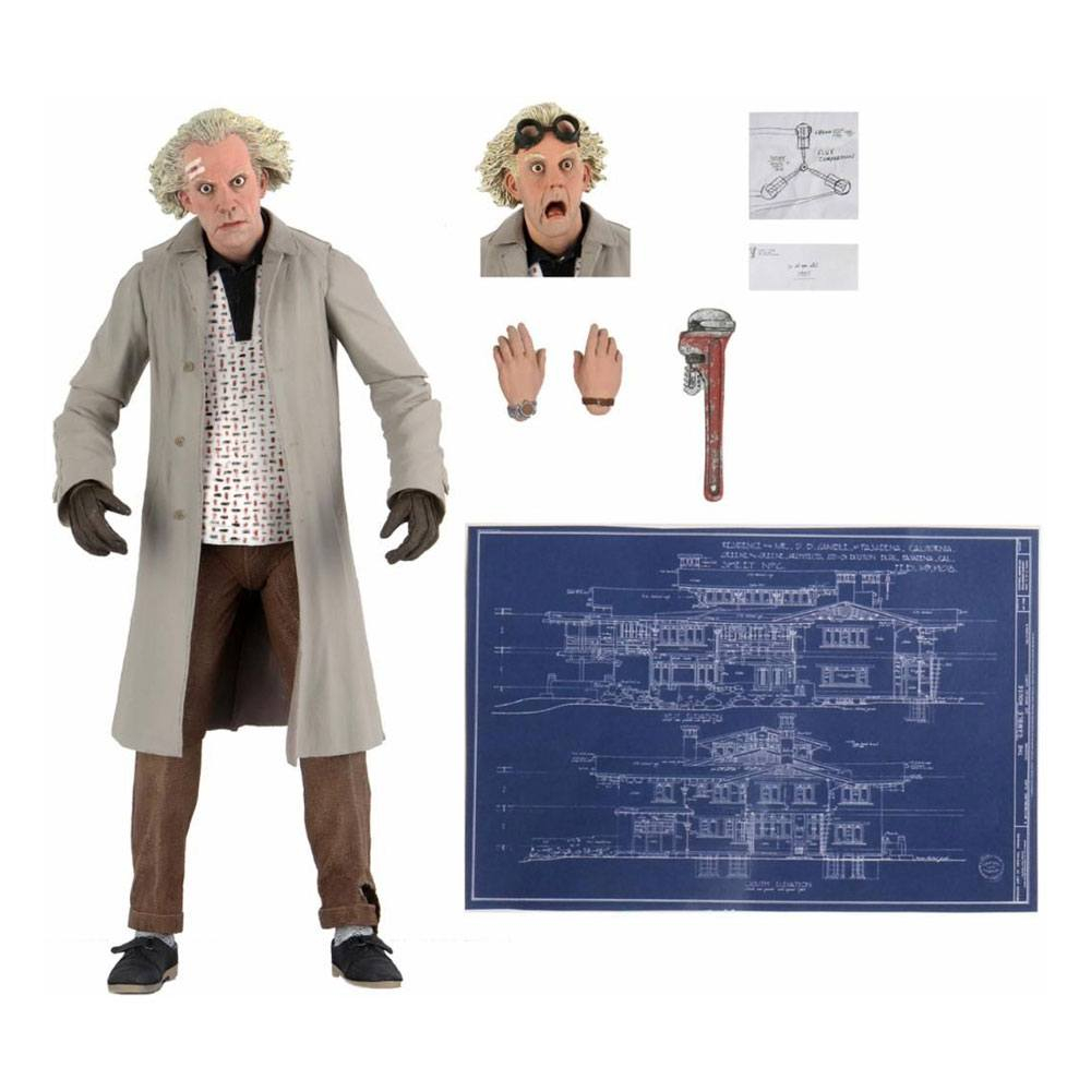 *PREORDER* Back to the Future Action Figure Ultimate: Doc Brown by Neca