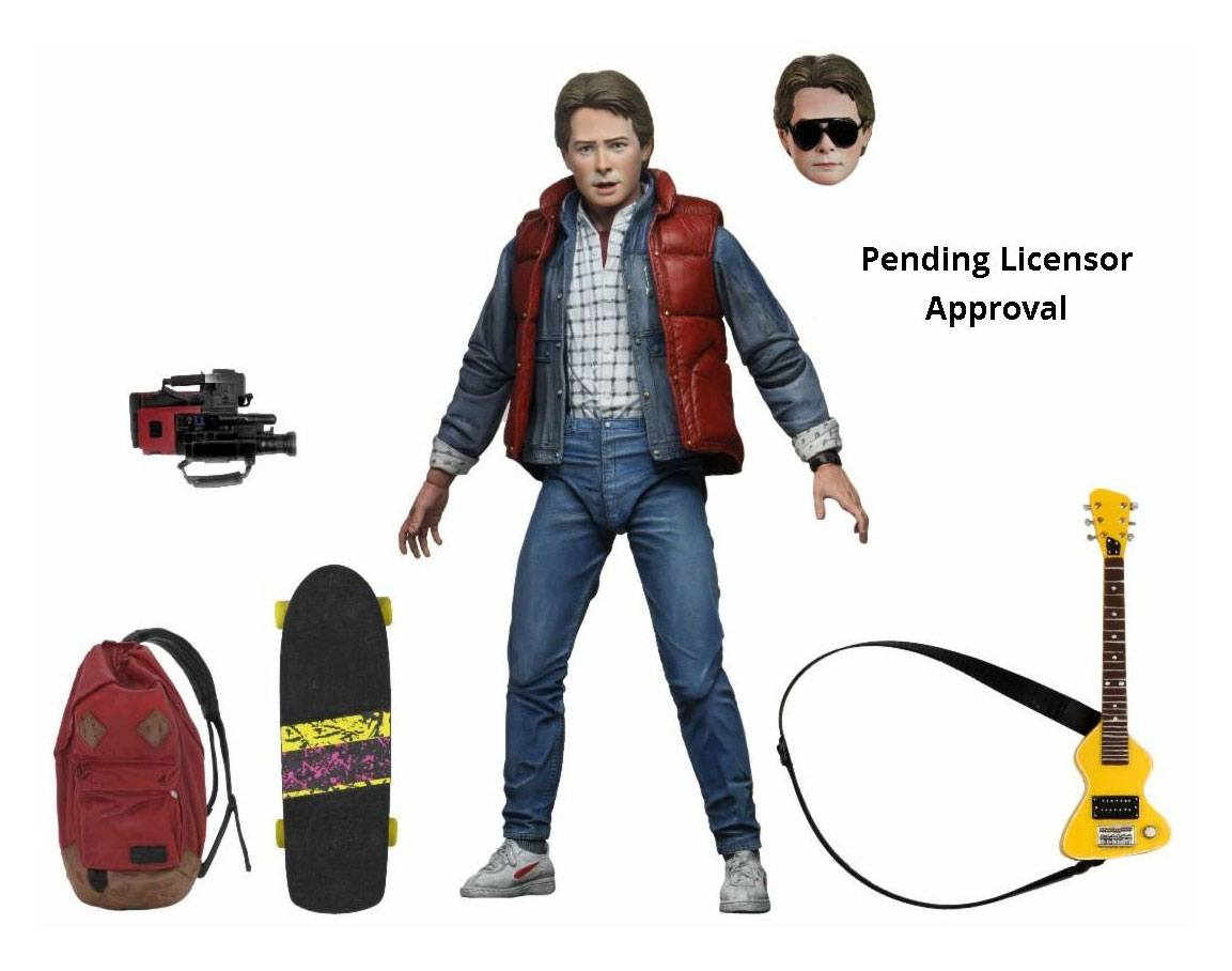 Back to the Future Action Figure Ultimate: Marty McFly by Neca