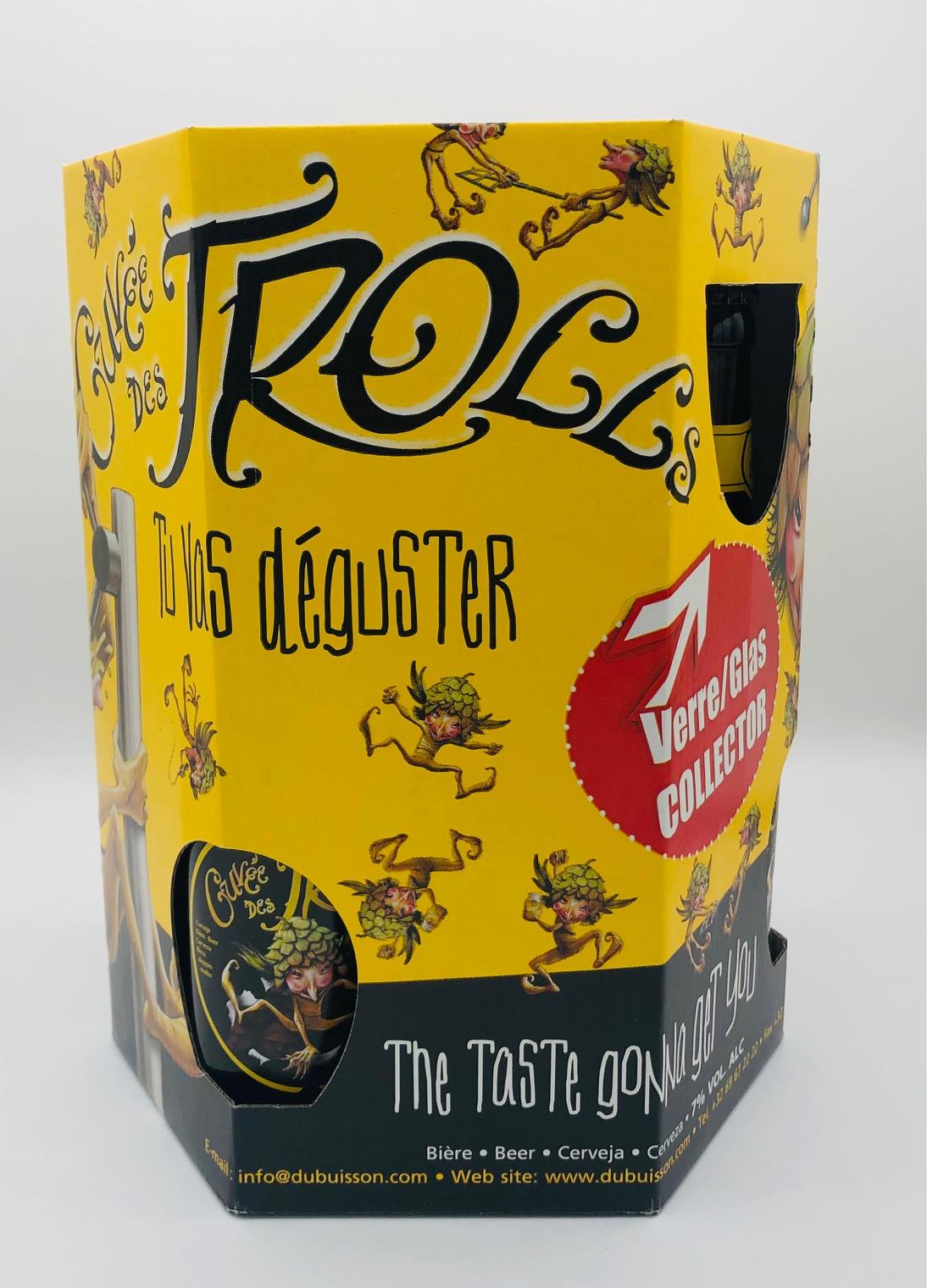 Birra Couvèe des Trolls CL.33X6 + 1 Bicchiere