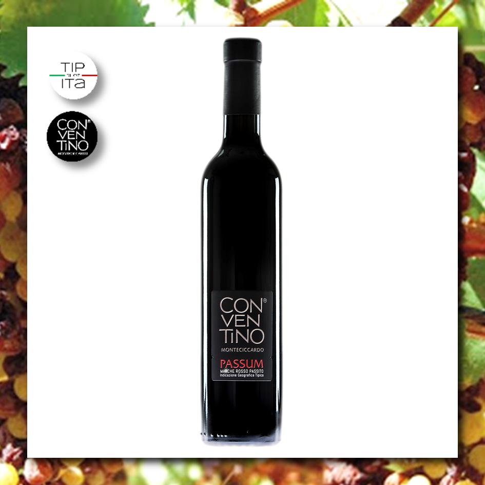 Passum - IGT Marche - Vino Rosso Passito 2015 - 375ml