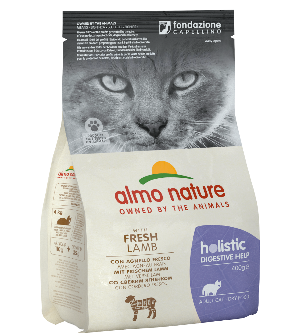 Almo Nature - Holistic Cat Functional - Digestive Help - Agnello - 400 g