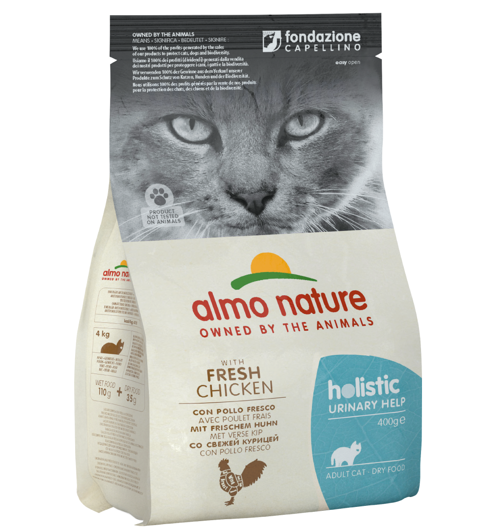 Almo Nature - Holistic Cat Functional - Urinary Help - Pollo - 400 g