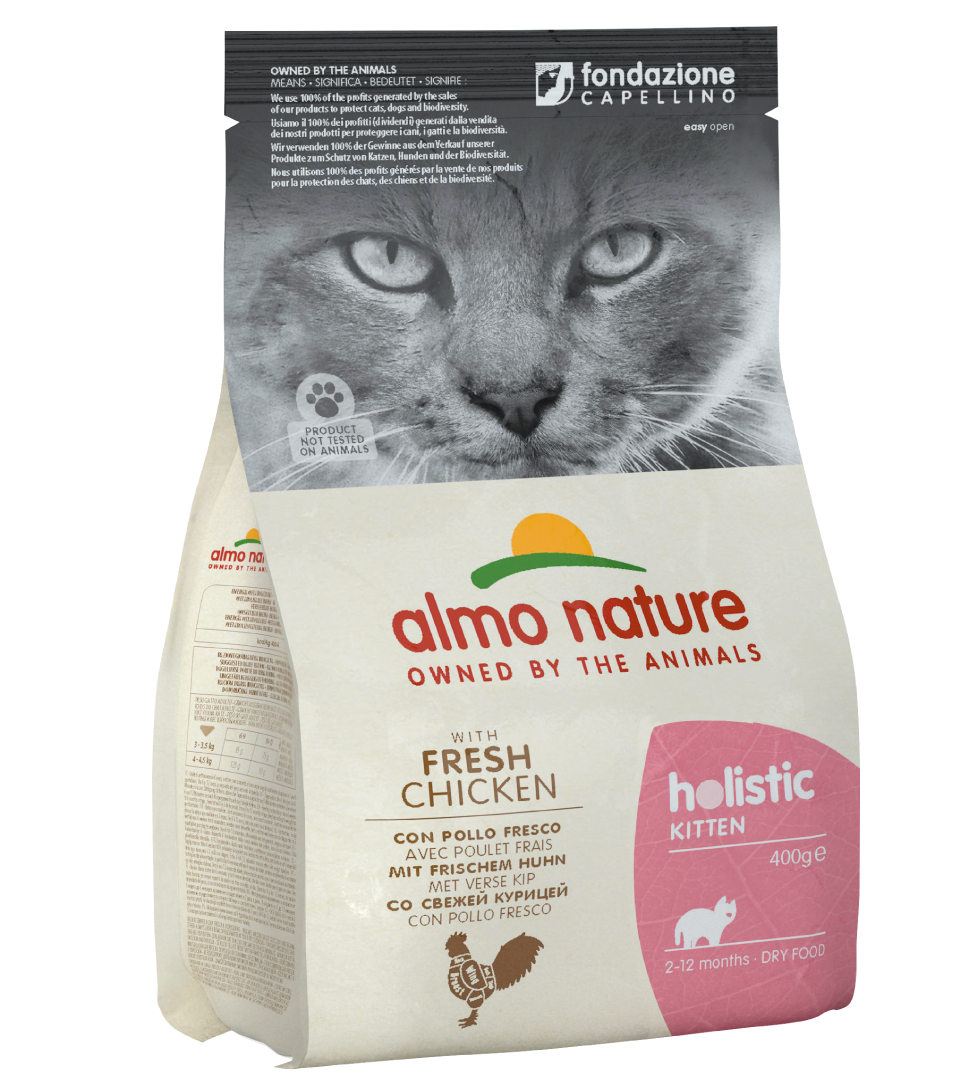 Almo Nature - Holistic Cat - Kitten - Pollo - 400 g
