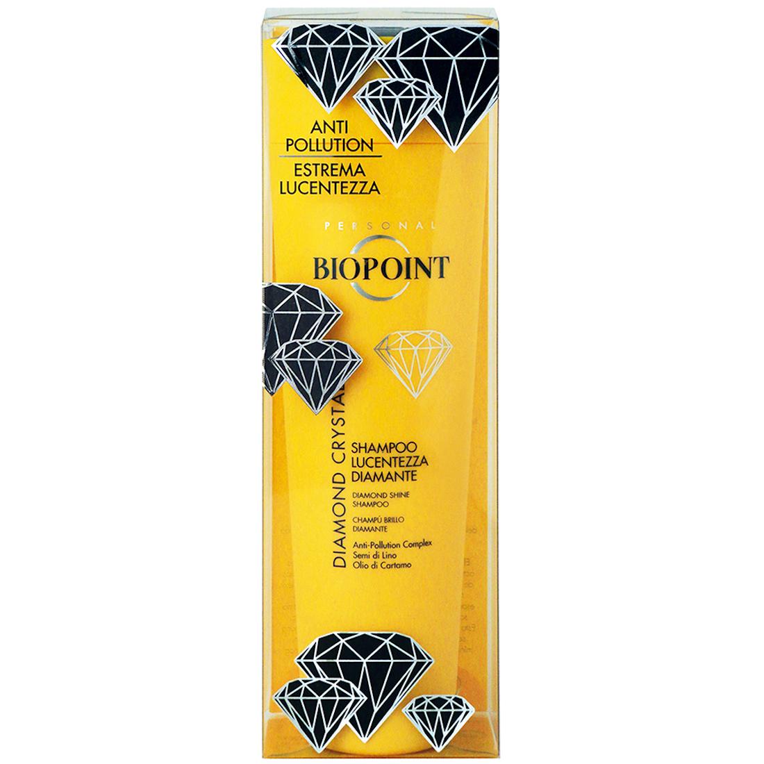 BIOPOINT Diamond Crystal Shampoo Lucentezza Diamante 200ml