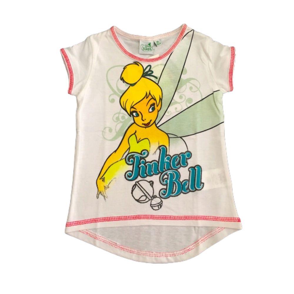 Maglietta bambina Trilly 2 anni manica corta bianca