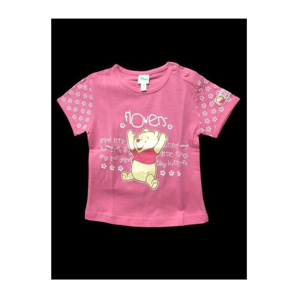 Maglietta 12 mesi Winnie The Pooh Walt Disney rosa