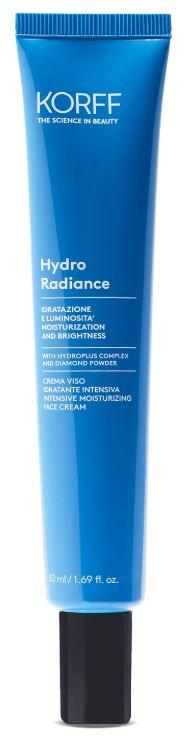 Korff hydro radiance crema viso idratante intensiva