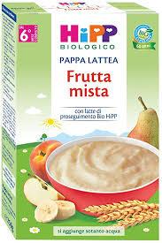PAPPA LATTEA FRUTTA MISTA 250g