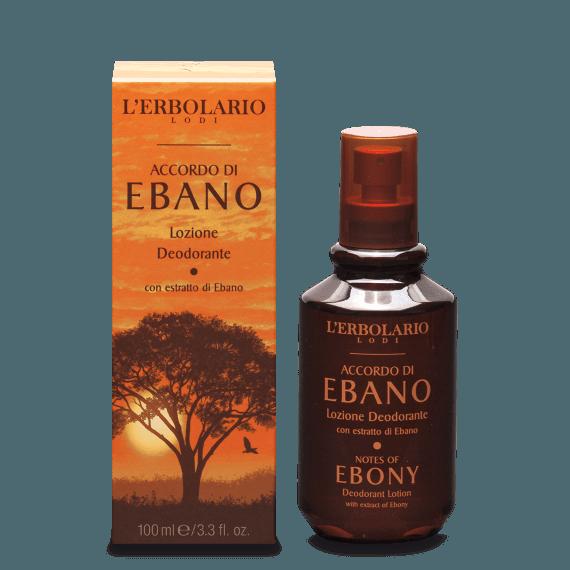 Lozione Deodorante Accordo di Ebano L'Erbolario