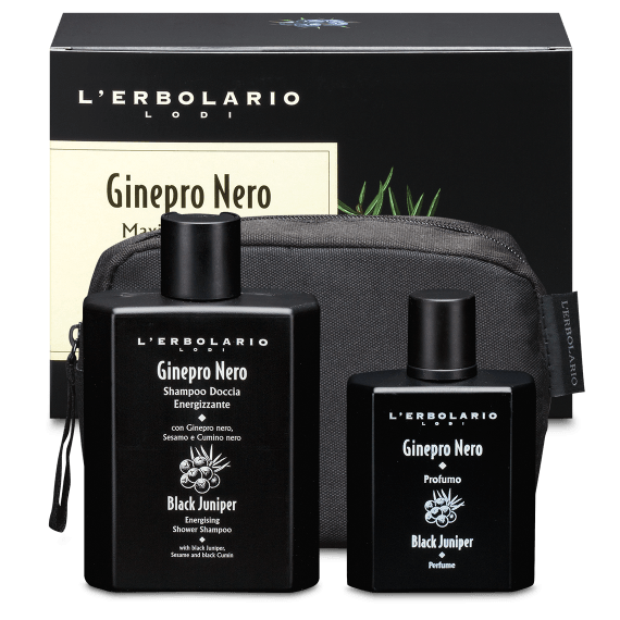Maxi Beauty-Set Ginepro Nero L'Erbolario