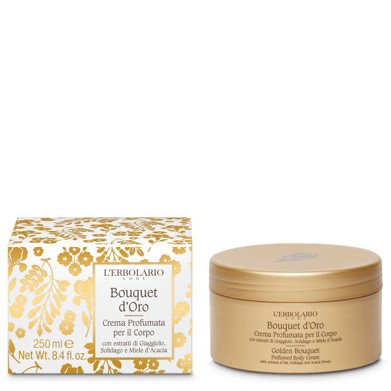 Crema Profumata per il Corpo Bouquet d'Oro L'Erbolario