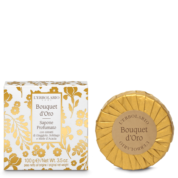 Sapone Profumato Bouquet d'Oro L'Erbolario