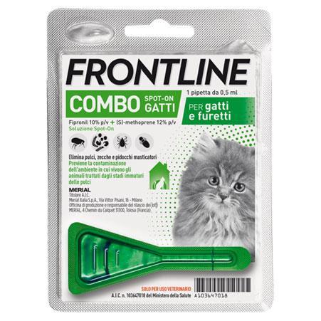 FRONTLINE COMBO SPOT-ON GATTINI E FURETTI 0,5ml