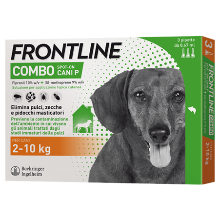 FRONTLINE COMBO SPOT ON CANI 2-10Kg