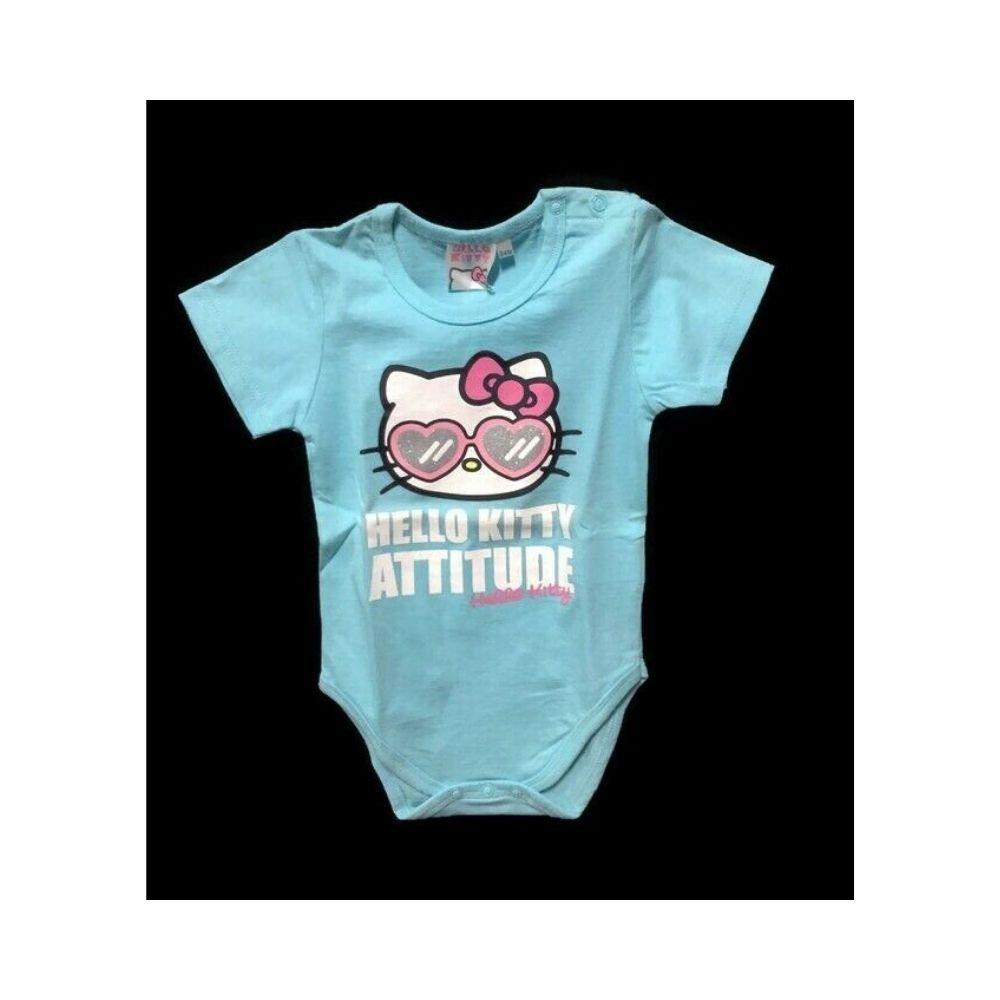 Body 24 mesi Hello Kitty a manica corta neonata