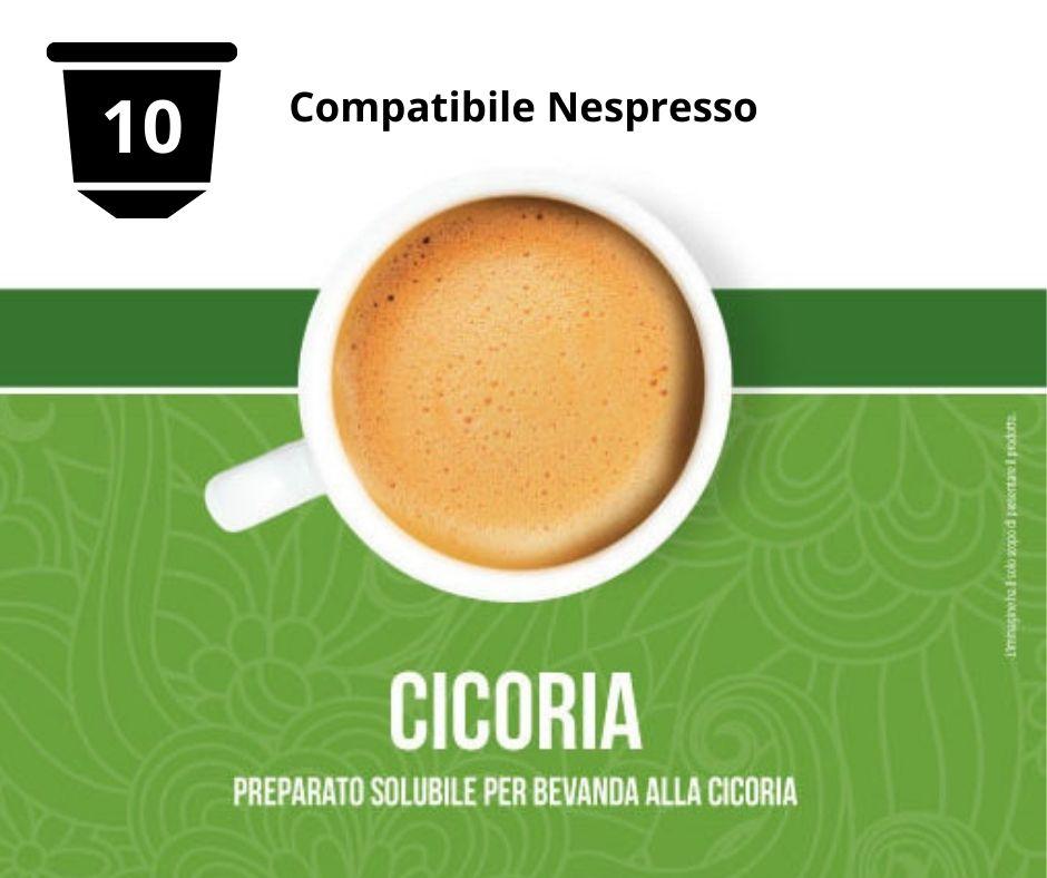 10 capsule bevanda alla cicoria compatibili nespresso