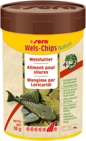 Sera Wels-Chips Nature 100ml (38g)