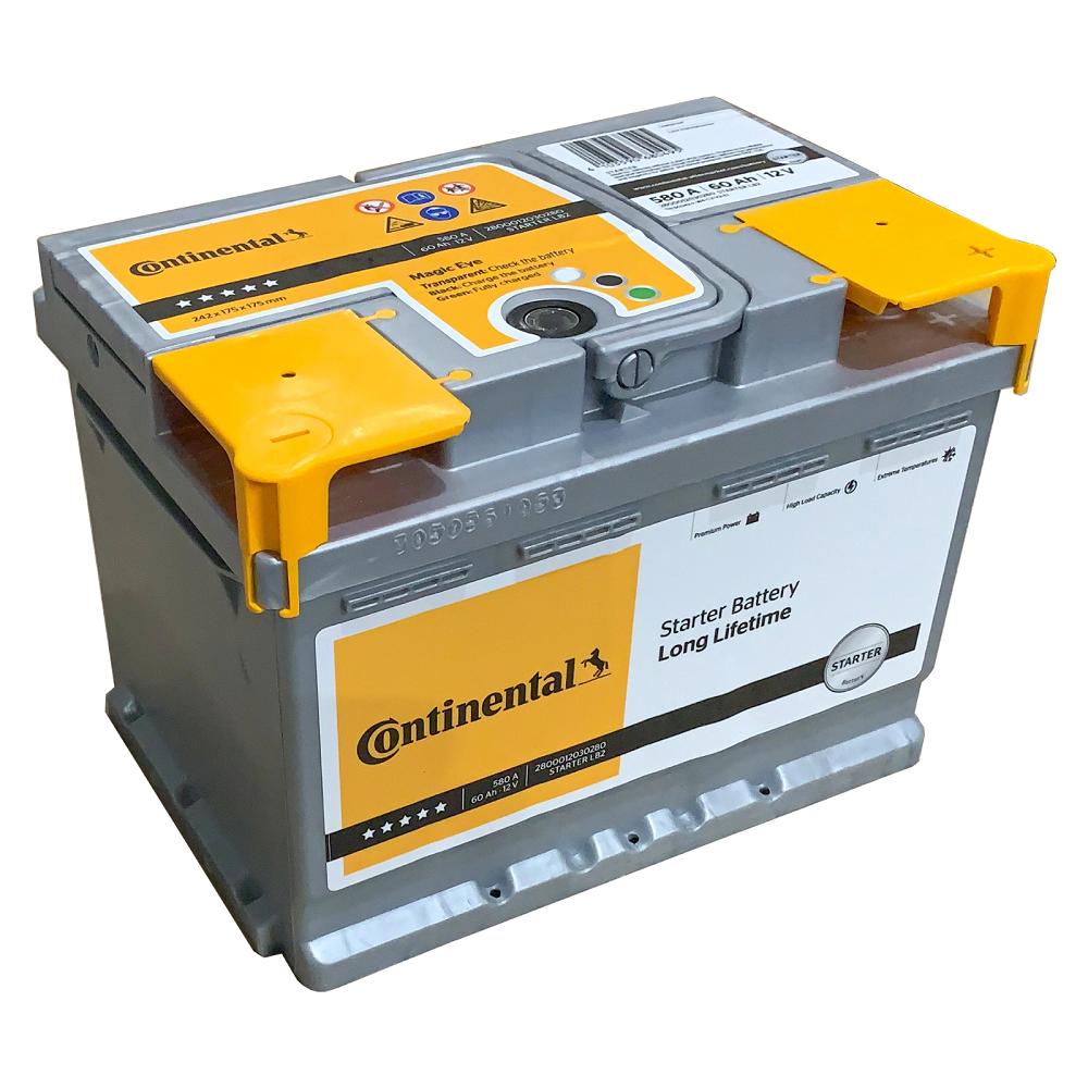 Batteria Continental 70Ah 680A POSITIVO A DX 2800012032280
