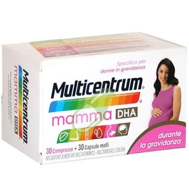 MULTICENTRUM MAMMA DHA DURANTE LA GRAVIDANZA 30 COMPRESSE + 30 CAPSULE MOLLI