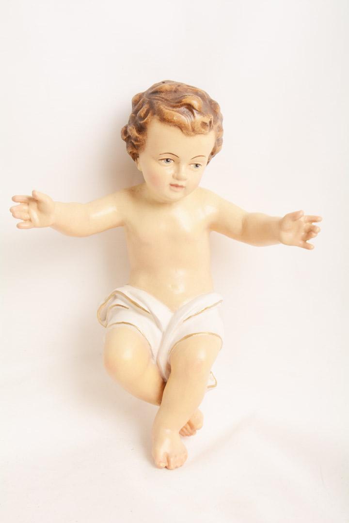 Gesù Bambino Dolfi Legno cm 25