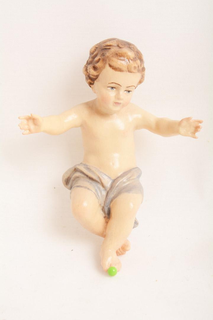 Gesù Bambino Dolfi Legno cm 10