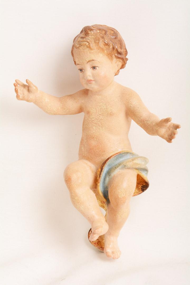 Gesù Bambino Legno cm 15