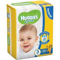 HUGGIES UNISTAR-BASE TG 3  4-9kg x20pz
