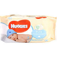 HUGGIES PURE SALVIETTE x56pz