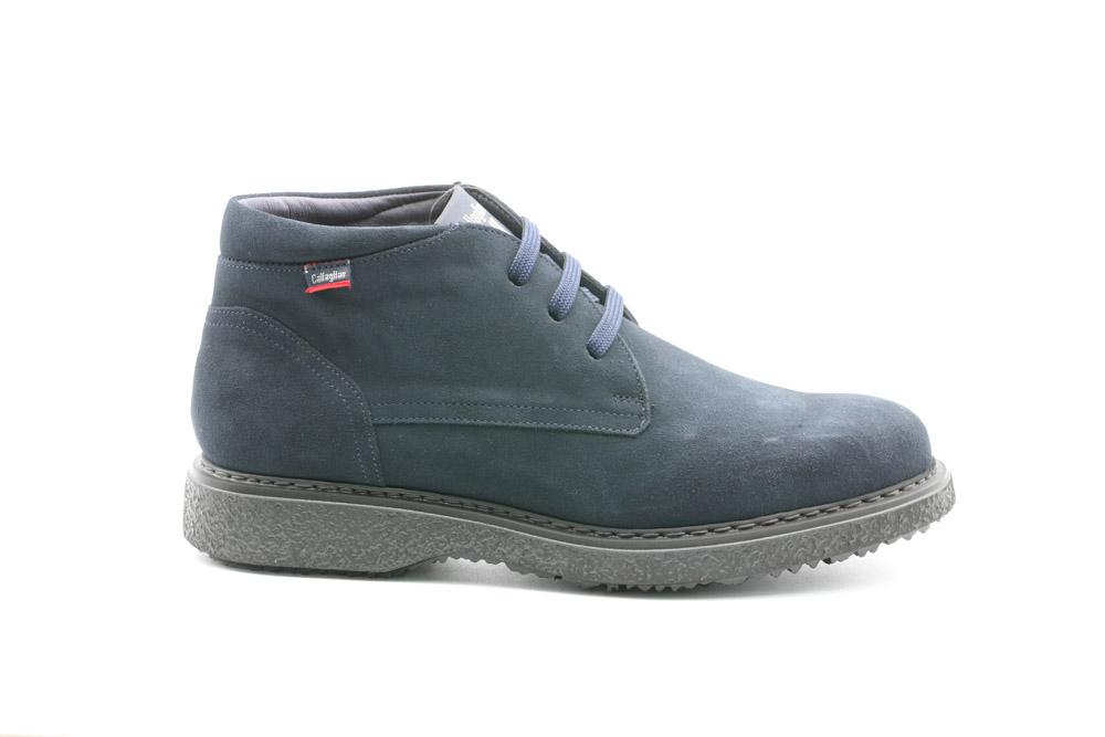 Callaghan-Calzatura Uomo Desert Boot Ante/Azul/Free Crep 12302