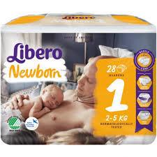 NEWBORN 1   2-5kg x28pz