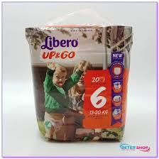 LIBERO UP&GO 6 13-20kg x20pz