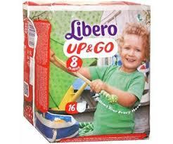 LIBERO UP&GO 8  19-30kg x16pz