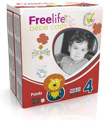 FREELIFE PANTS MAXI 4  8-15kg x22pz