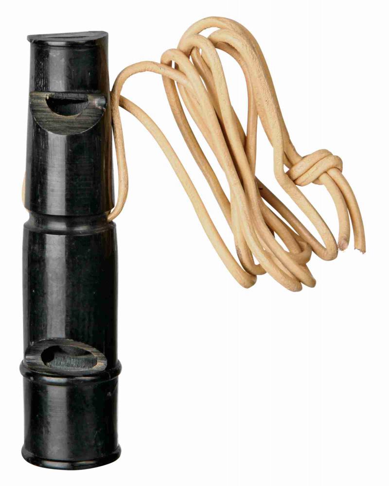 Trixie - Fischietto in corno di bufalo - 9 cm