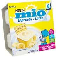 MERENDA BANANA E LATTE 4x100gr